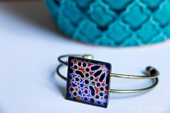 Bracelet Mosaïque de l'Alhambra .