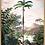 Poster vintage Jungle - Palmier | Trois Fenêtres à Marseille