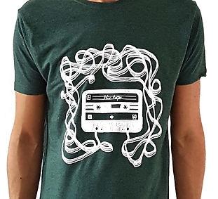 T shirt cassette audio