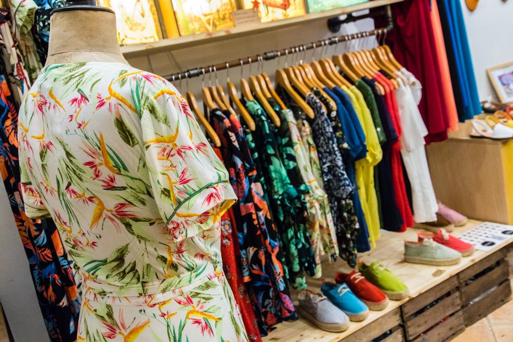 Boutique de vêtements Trois Fenêtres - Le Panier Marseille