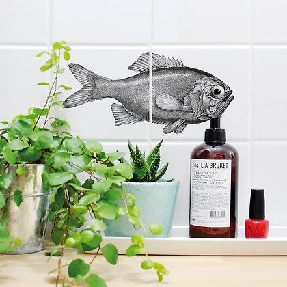 Sticker Rascasse - Autocollant de poisson pour carrelage - Marseille