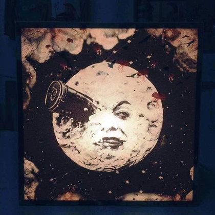 Voyage dans la Lune - Meliès - Boite lumineuse originale à Marseille