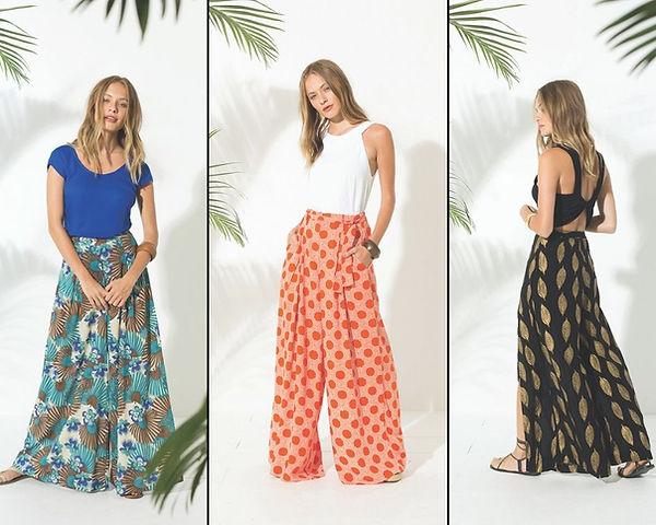 pantalon extra large boheme - Trois Fenêtres