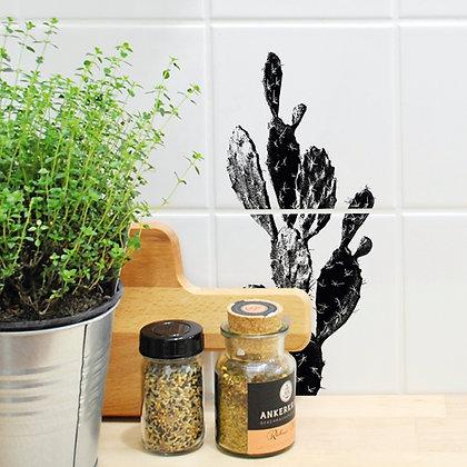Cactus - Autocollants sticker pour carrelage - Marseille