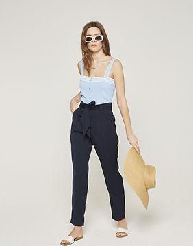 pantalon bleu Grace et Mila.jpg