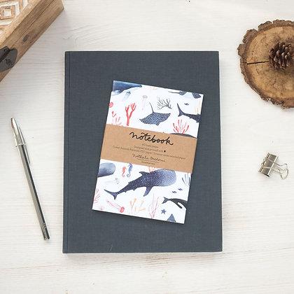 Notebook Baleines