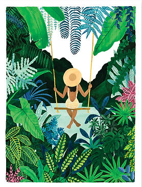 Affiche tropicale