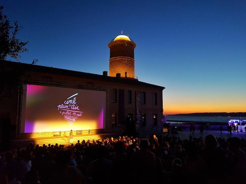 Cine Plein Air Marseille - Mucem Plan B