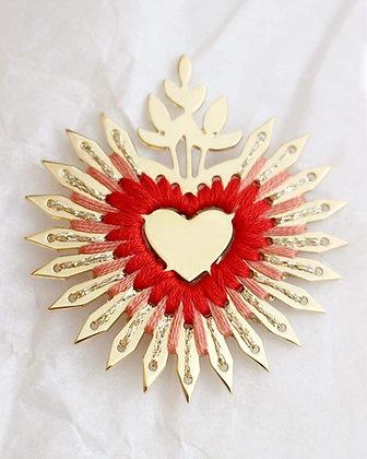 Coeur Flamboyant - Pins XL