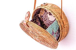 Round Bag rotin - Concept store Marseill