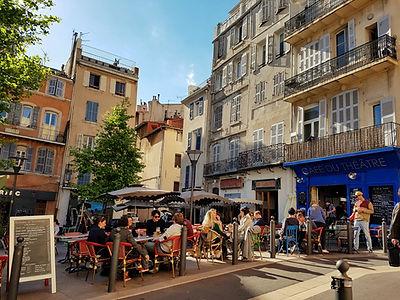 Place de Lenche au Panier Marseille