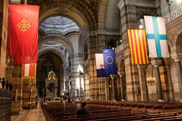 Intérieur de la Cathédrale de la Major à Marseille