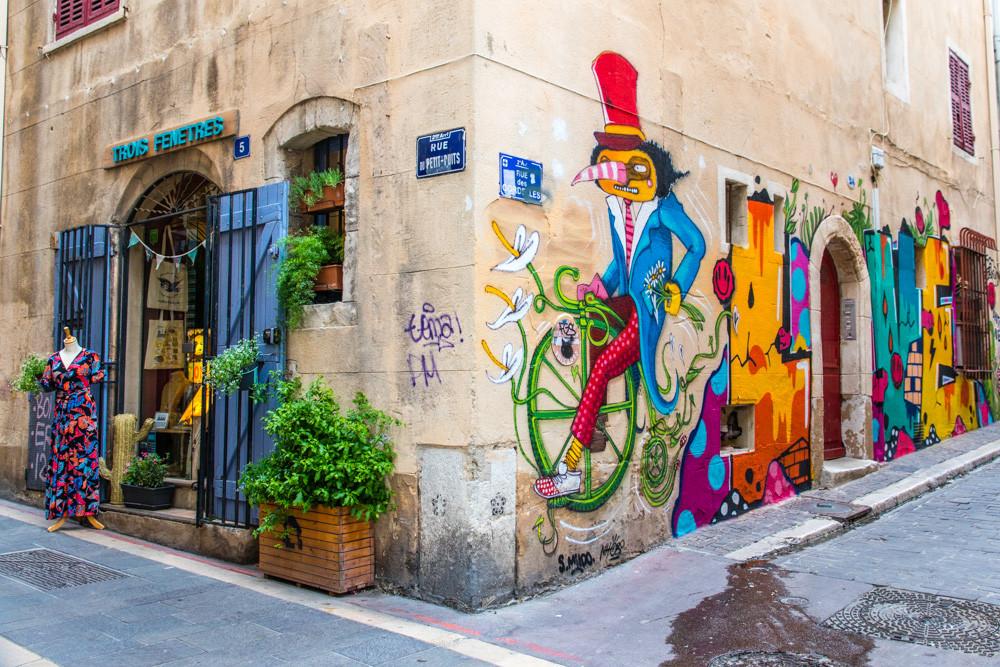Trois Fenêtres - Concept Store Marseille vue extérieure