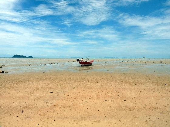 Photographie Marée basse Thailande - Trois Fenêtres
