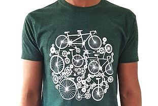 T-shirt velo pour homme - design velo