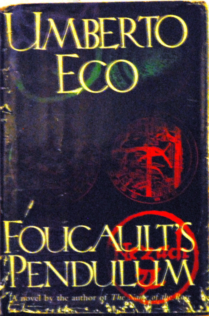 Reading Foucault's Pendulum