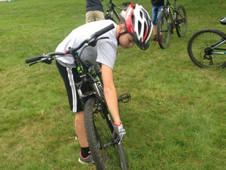 After school cycling Shipley Park launch