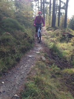 MTB Debbie Blue trail