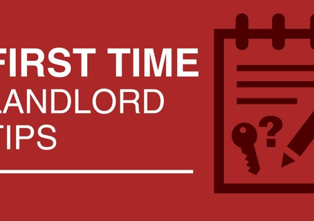 3 Tips For First-Time Landlords