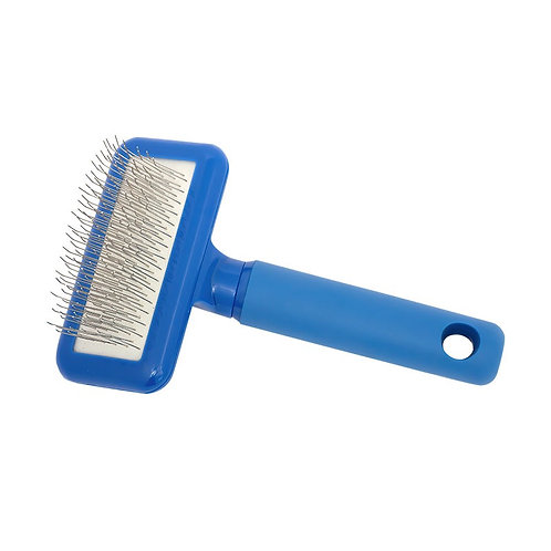 Compact Long Pin Slicker Pro-Grooming Brush