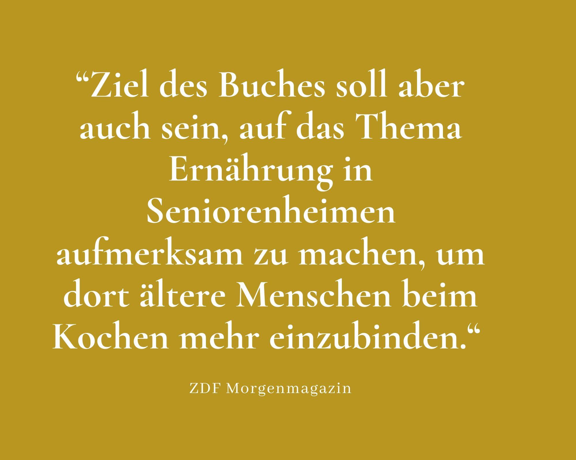 Presse Zitate ZDF Morgenmagazin (1)