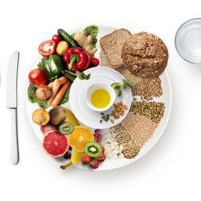 Der vegane Ernährungsteller: ausgewogen pflanzlich