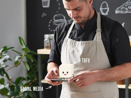 Der Tofu muss ins Netz!