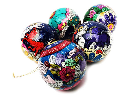 Hand Painted Ornaments- 1