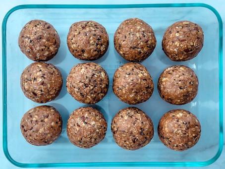 Chocolate Coconut Protein Bites