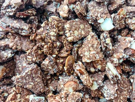 Cinnamon Almond Protein Granola