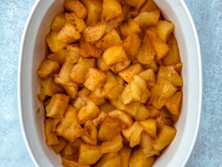 Cinnamon Baked Apples (no added sugar!)