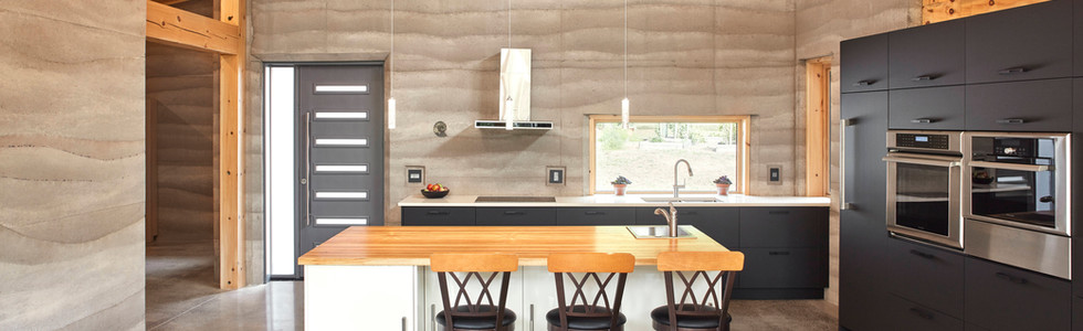 Tobacco Road Rammed Earth Home