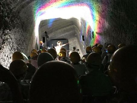 赤山地下壕ヘルメットコンサート