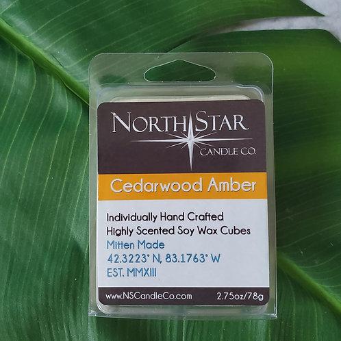 Cedarwood Amber Wax Melt