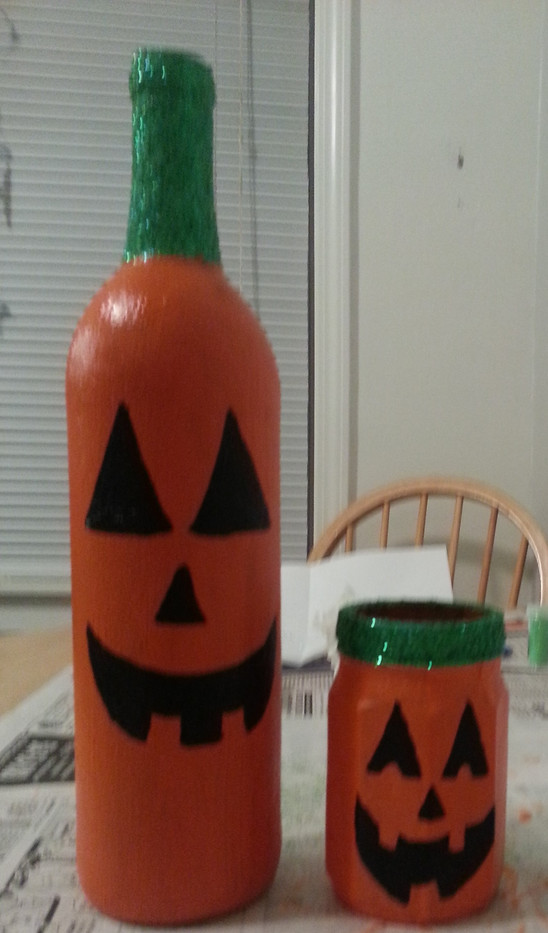 Decorated Candle Holders