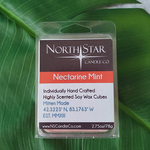 Nectarine Mint Wax Melt