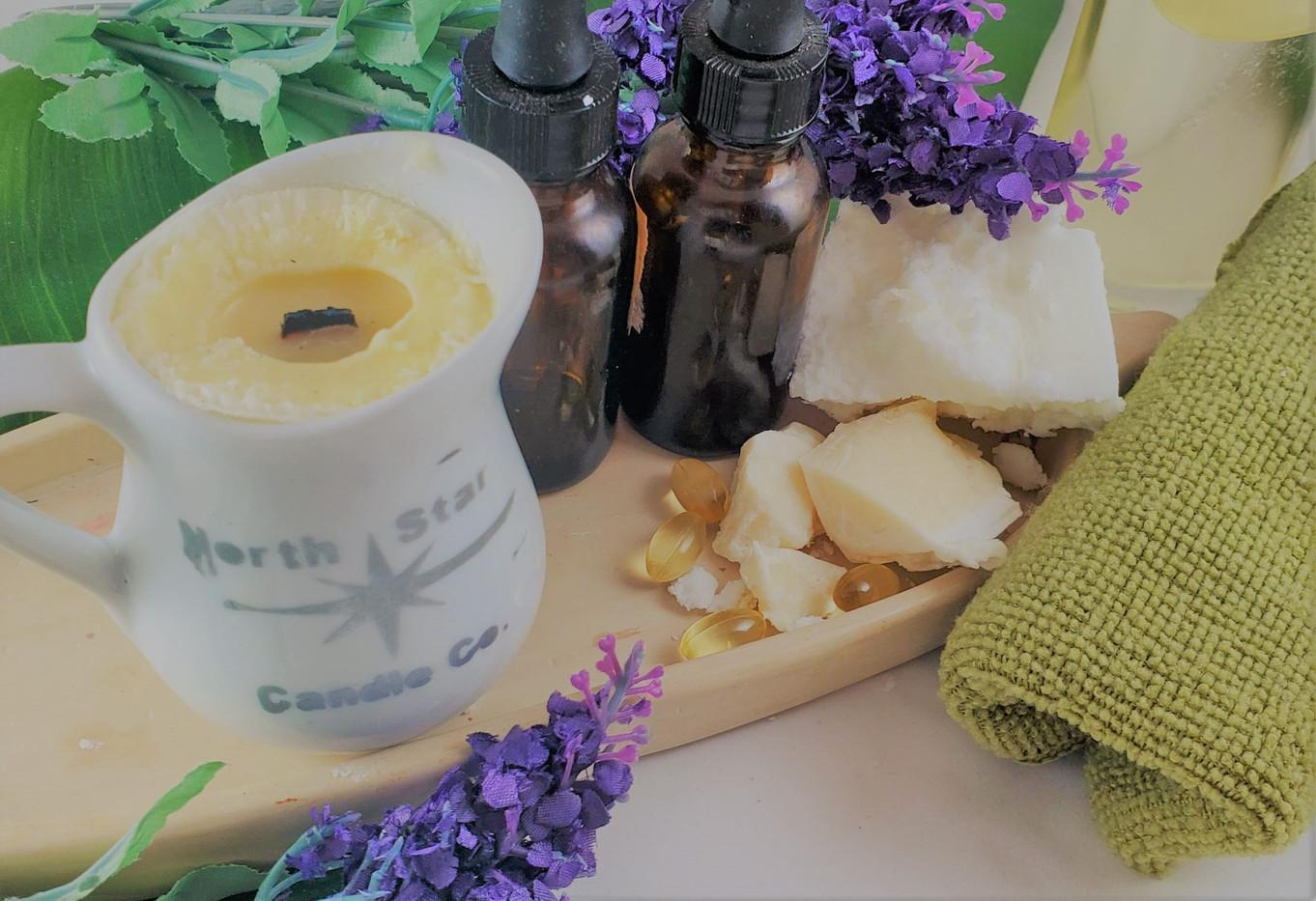 4 oz Massage Oil Candle
