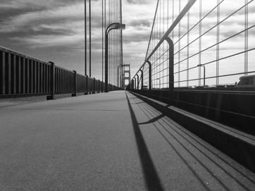 Golgen Gate bridge walkway