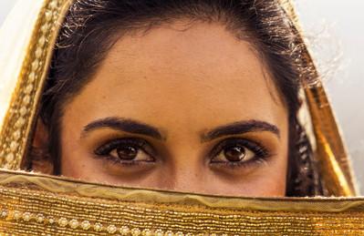 Nikita's eyes