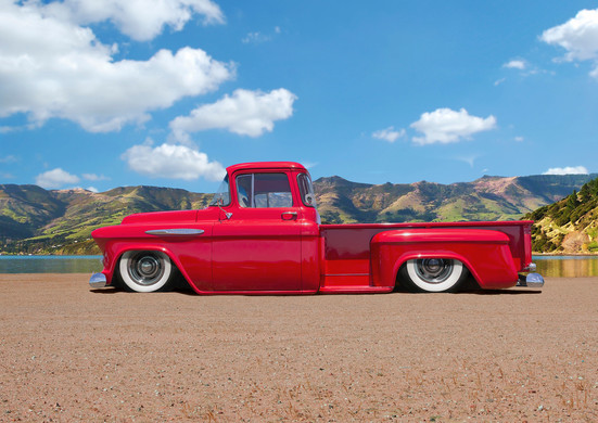 Chevy 57 Apache Pick Up Truck