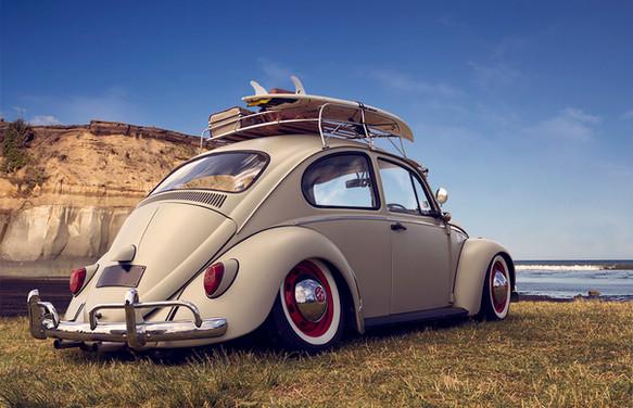 VW beetle surf edition