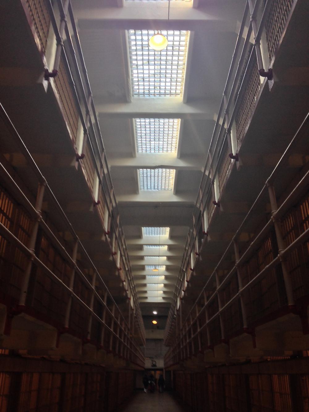 Alcatraz cellblock