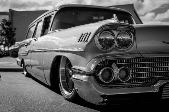 Chevy Station Wagon up close