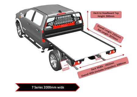 american truck dual cab 7 series 2 meter