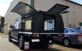 GTWORKS FORD RANGER DF Tray Canopy Combo