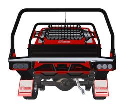 GTWORKS Traysformer Rear Ladder Rack B