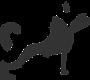black and gray dog transparent backgroun