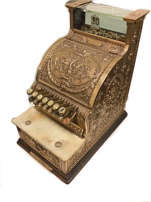 "National Cash Register 1910 ""candy store"" model"
