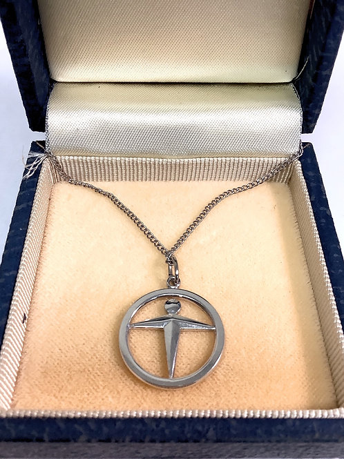 Tiffany & Co Sterling manpower necklace