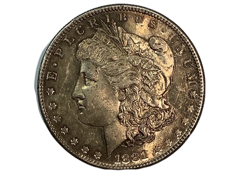 1881 S Morgan Dollar UNC
